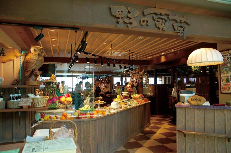 食彩健美 野の葡萄 天神イムズ店の画像