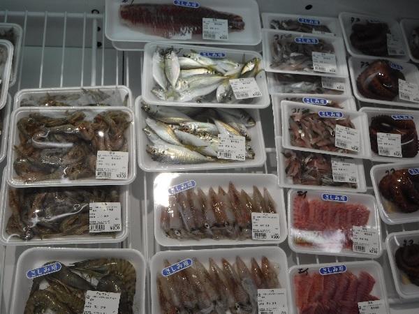 ベカ以外の魚も沢山水揚げされてます